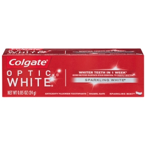 Colgate® Optic White® Sparkling Mint® Toothpaste, 0.85 Ounce
