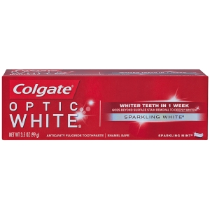 Colgate® Optic White® Sparking Mint® Toothpaste, 3.5 Ounce