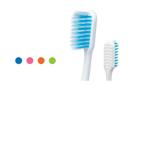 Colgate® Gum Clean™ Compact Toothbrush